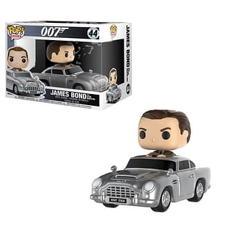 007 Gets a Sweet Funko Pop Ride in February