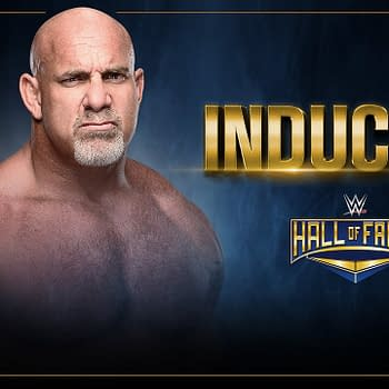 Goldberg to be Inducted to WWE Hall of Fame Presumably for Wrestling not Pooping
