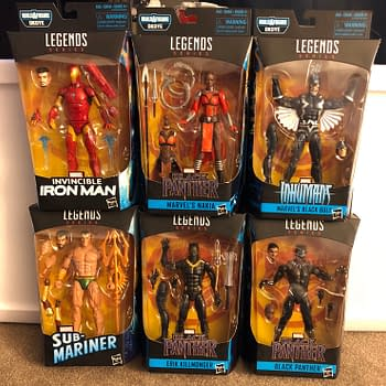 Black Panther Marvel Legends 1