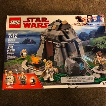 Star Wars LEGO Ahch-To Island Set is Here With Porgs