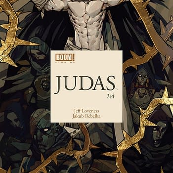 Judas #2 Review: The Black Halo and the Black Wings
