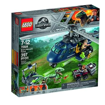 Jurassic World: Fallen Kingdom LEGO Sets Coming in April
