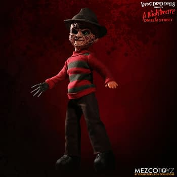Freddy Krueger Becomes the First Talking Living Dead Doll from Mezco