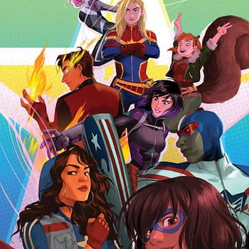 Devin Grayson Brings Squirrel Girl Ms. Marvel and America to Camp in Free Marvel Rising #0