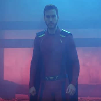 Chris Wood Wears a More Comic Book Accurate Mon-El Costume