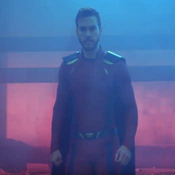 Chris Wood Wears a More Comic Book Accurate Mon-El Costume