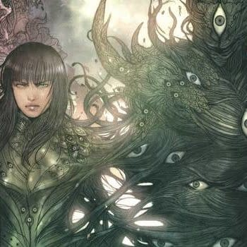 Monstress #13 cover by Sana Takeda
