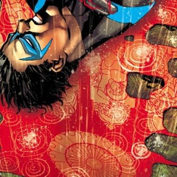 Nightwing #36 cover by Bernard Chang and Marcelo Maiolo