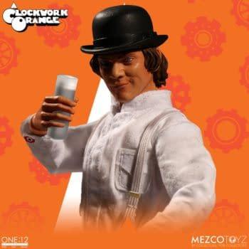 A Clockwork Orange Favorite Alex DeLarge Figure on its Way From Mezco