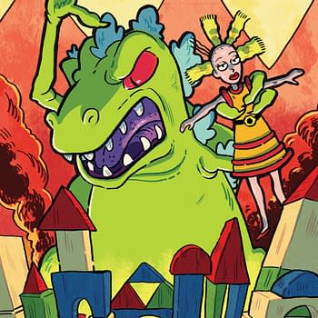 Rugrats Reptar Gets a Comic Book Special from Boom in April