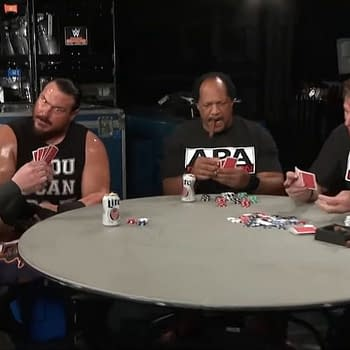 RAW 25: Heath Slater Rhyno and The APA Play Poker in the Back Room