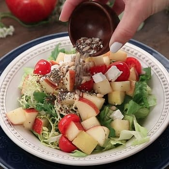 Nerd Food: Try Snow Whites Enchanted Apple Salad If You Dare