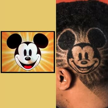 The Perfect Haircut Art for Mickey Mouse Fans