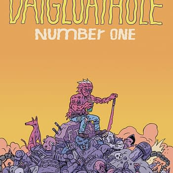 Daygloayhole #1 and Please Destroy My Enemies (in Full Color): Silver Sprocket April 2018 Solicits