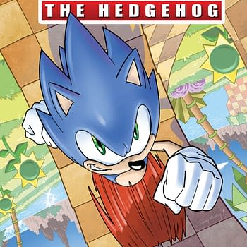 Sonic the Hedgehog Runs Once More: IDW Publishing April 2018 Solicitations