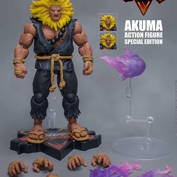 Street Fighter Favorite Akuma Coming from Storm Collectibles