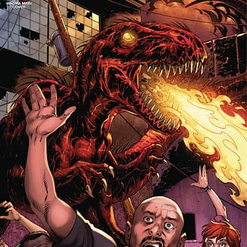 Volcanosaurus Returns and the Three Stooges Slaptastic Special: American Mythology April 2018 Solicits