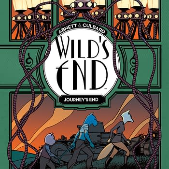 Abnett and Culbards Wilds End Returns to BOOM for Journeys End OGN