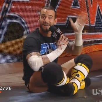 CM Punk appears on WWE Raw