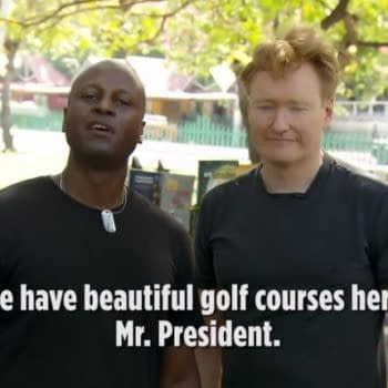 """Conan: Haitians Respond to Trump's """"Very Negative Yelp Review"""""""