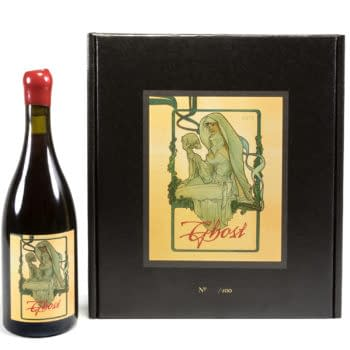Dark Horse Announces the 2015 Ghost Pinot Noir with Adam Hughes Art