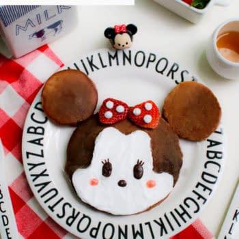 Minnie Tsum Tsum pancakes