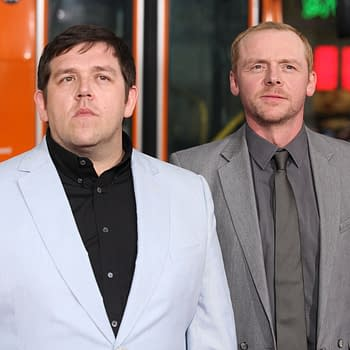 Nick Frost and Simon Pegg Ghost-Hunter Comedy Series Truth Seekers Happening