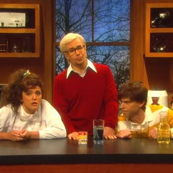 Sam Rockwell Drops F-Bomb on SNL: Nation Mourns Vows to Rebuild