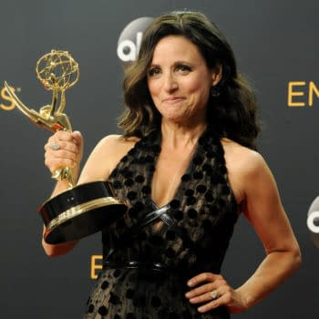 Julia Louis-Dreyfus at the 68th Annual Primetime Emmy Awards, 2016