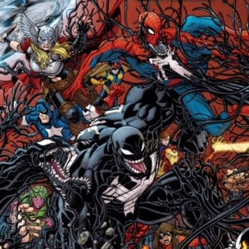 Dione the Mad Titan Visits Venomverse with Weekly 'Venomized' Finale from Bunn and Coello in April