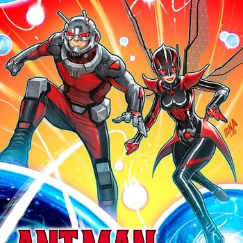 Mark Waid and Javier Garron Synergize Ant-Man and the Wasp Mini in June