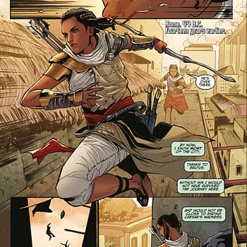 Ubisoft and Titan Comics Debut Assassin's Creed: Origins Comic Book