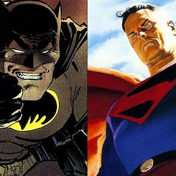 Dark Knight Returns Batman Versus Kingdom Come Superman