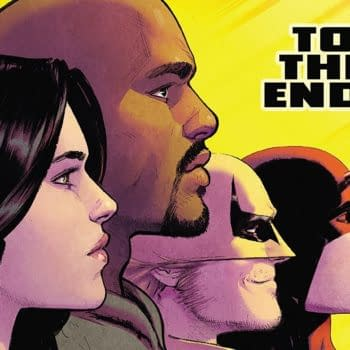 Defenders #10 cover by David Marquez and Justin Ponsor