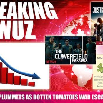 Dow Plummets After Cloverfield Paradox Earns 16% Rotten Tomatoes Score