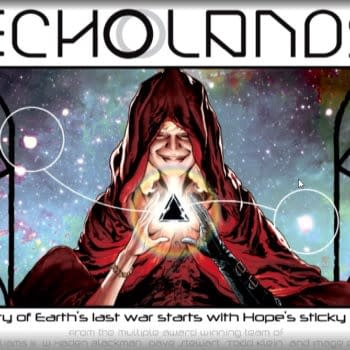 J.H. Williams and Haden Blackman Reteam for Echo Lands #ImageExpo