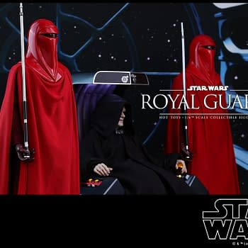 Emperor Palpatine and His Royal Guards Finally Coming From Hot Toys