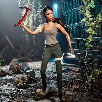 tomb raider Barbie