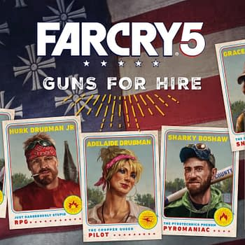 Ubisoft Releases A New Guns For Hire Trailer For Far Cry 5