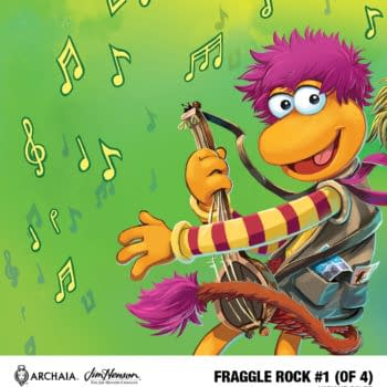 Fraggle Rock comic