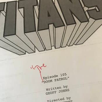 Geoff Johns Teases Doom Patrol Appearance in New Titans TV Series