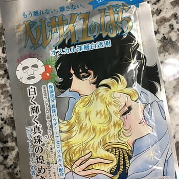 This Rose of Versailles Sheet Mask is Ideal for Winter Skin