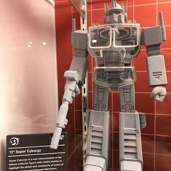 Toy Fair New York: Super 7 Booth Surprises With Transformers Universal Monsters and More