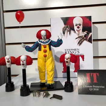 Toy Fair New York: NECA Brings The Thunder With Pennywise The Dancing Clown and More