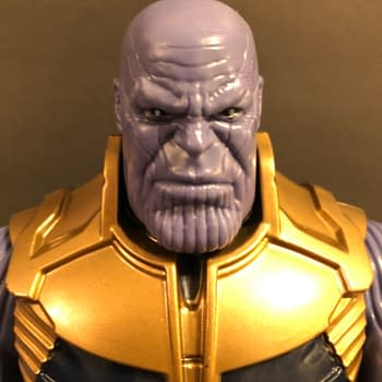 We Take a Look at the Thanos Figure from Avengers: Infinity War