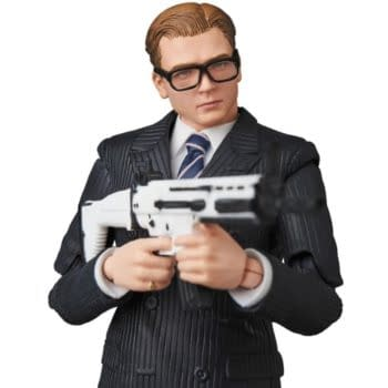 Kingsman Agent Eggsy Heading Home from MAFEX This Year