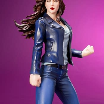 Jessica Jones Defenders Statue Revealed by Kotobukiya