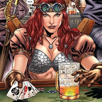 Writers Commentary: Marc Andreyko Talks Legenderry Red Sonja #1