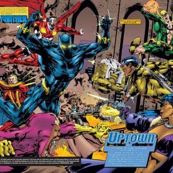 Marvel Knights: Black Panther #17 art by Sal Velluto, Bob Almond, and Brad Vancata