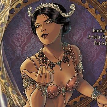 Mata Hari #1 cover by Ariela Kristantina